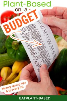 EatPlant-Based demonstrates how to eat plant-based on a budget. Many people think that it is too expensive to eat healthily. It can be, but it doesn't have to be that way. Find out some options for breakfast, lunch, and dinner that won't break your budget! #budget #plantbaseddiet Plant Based Nutrition, Plant Based Diet, Health And Fitness Articles, Health Fitness, Get Healthy, Healthy Eating, Free Plants, Food Articles, That Way