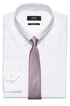 Einfarbiges Hemd mit Button-down-Kragen  100% Baumwolle....