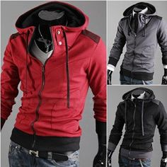 Mens Hoodies Sweatshirts Fashion Fitted Stylish Trendy Casual Designer Mens Sweatshirts #MS080 on AliExpress.com. $37.99
