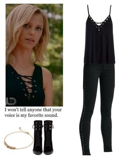 Freya Mikaelson - The originals by shadyannon on Polyvore featuring polyvore fashion style rag & bone/JEAN Sans Souci Sergio Rossi ASOS clothing