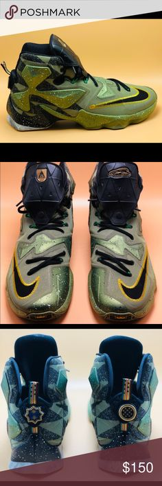 "ed6b013a6d5c Lebron 13 AS ""Northern Lights"" Special Edition The official colorway is  Alligator Black"
