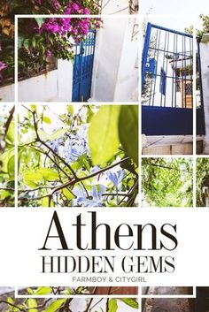 Athens Hidden Gems: 10 Unusual Things to See and Do   Farmboy & CityGirl #Athens #Greece