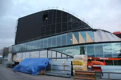 De buitenkant krijgt steeds meer vorm (rondje bouw 07-02-2014)