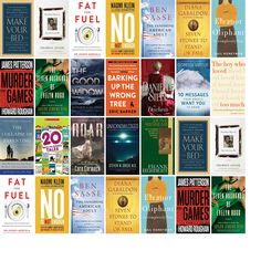 """Saturday, June 24, 2017: The Morgan County Public Library has 17 new bestsellers and three other new books in the Top Choices section.   The new titles this week include """"Make Your Bed: Little Things That Can Change Your Life...And Maybe the World,"""" """"You Don't Have to Say You Love Me: A Memoir,"""" and """"Fat for Fuel: A Revolutionary Diet to Combat Cancer, Boost Brain Power, and Increase Your Energy."""""""