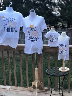 Where The Wild Things Are Family Birthday Bundle Mom Dad Boys First Birthday Party Ideas, One Year Birthday, Wild One Birthday Party, Twin First Birthday, Boy Birthday Parties, Baby Birthday, Twins 1st Birthdays, Family Birthdays, Wild Ones