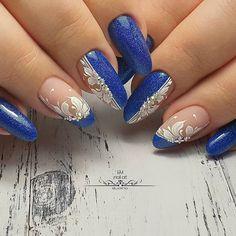 organizador to do when bored acrilico garden nail kids nail for beginners Nail Art Designs, Elegant Nail Designs, Claire's Nails, Lace Nails, Classy Nails, Stylish Nails, Swirl Nail Art, Fruit Nail Art, Nailart