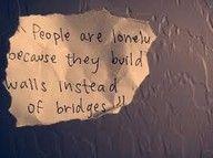 build a bridge not a wall