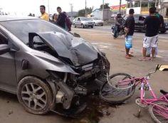 JORNAL O RESUMO - ACIDENTE JORNAL O RESUMO: Jovem é atropelado em São Pedro