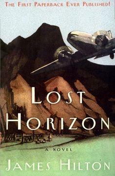 Lost Horizon by James Hilton  Read with a dictionary close at hand.  Great story, but Hilton must've used a thesaurus while writing.   Amusing.