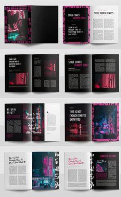 Magazine Design Inspiration, Magazine Layout Design, Book Design Layout, Graphic Design Inspiration, Graphic Design Books, Graphic Design Illustration, Typography Poster Design, Album Cover Design, Publication Design