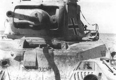 Formerly of the 4th Royal Tank Regiment, this Matilda IIwas captured at Halfaya pass in May 1941, and returned to service against its former masters by the 8th Panzer Regiment of the 15th Panzer Division.