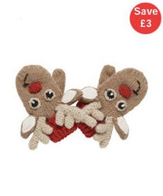 View details of Reindeer Mittens