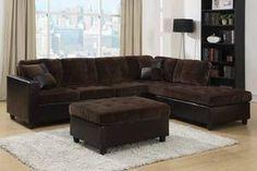 Fabric Sectional Sofa 505645 - 1