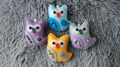 Felt Owl / Felt Ornament/ Spring Ornament/ by MyCraft2You on Etsy