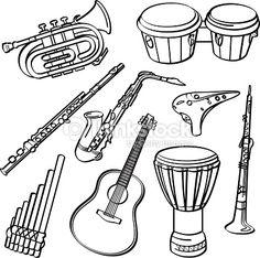 楽器 イラスト