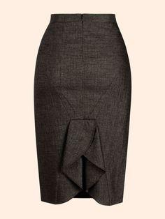 DIY - molde, corte e costura - Marlene Mukai Work Fashion, Diy Fashion, Fashion Design, Sewing Clothes, Diy Clothes, Mode Inspiration, Design Inspiration, Work Attire, Work Outfits