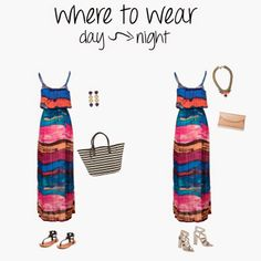 where to wear: summer days to nights