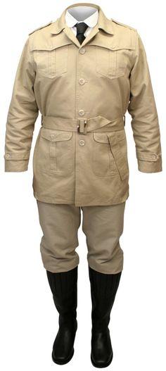 Safari Bush Jacket - New Style  $54.95