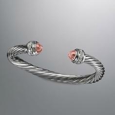 Wishlist: DY Morganite bracelet. <3