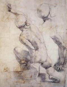 Raphael, study for Resurrection