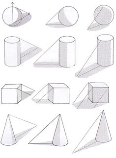 Basic Sketching, Basic Drawing, Technical Drawing, Perspective Drawing Lessons, Perspective Art, Pencil Shading Techniques, Art Techniques, Art Drawings Sketches Simple, Pencil Art Drawings