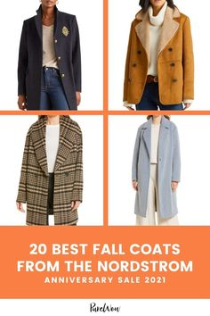 Thanks to the Nordstrom Anniversary Sale, we're stocking up on fall jackets right now (for an insane discount), so we'll be prepared come that first, glorious chilly day. #fall #coats #NordstromAnniversarySale Fuzzy Slippers, Nordstrom Anniversary Sale, Fall Jackets, Color Trends, What To Wear, Autumn Fashion, Gifts For Her, Leather Jacket, Coat