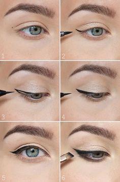 A Maçã de Eva Maquilhagem Para Olhos, Maquiagem Delineador, Truques De  Maquilhagem, Cabelo eac1597fee