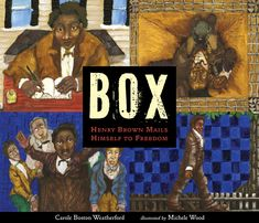 EPub Box: Henry Brown Mails Himself to Freedom Author Carole Boston Weatherford and Michele Wood Book Club Books, The Book, Henrys Freedom Box, Newbery Medal, Newbery Award, S Stories, The Life, Audio Books, Childrens Books