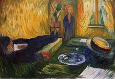 Edvard Munch, The Murderess, 1906