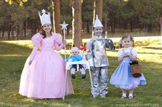 UPDATE: All of the Wizard of Oz DIY Costumes are done and can be viewed by clicking the link!! Enjoy! . . . . . My kiddos have been talking about Halloween for months. MONTHS! I'm pretty sure they decided right after last Halloween (remember, the Rapunzel days?) that they were going to dress up …