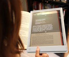 future, Iris Tablet, Fujitsu, Transparent Tablet, tech, Concept, device, technology, innovation, gadget, futuristic, transparent screen