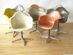 eames fiberglass chairs / color scheme reference