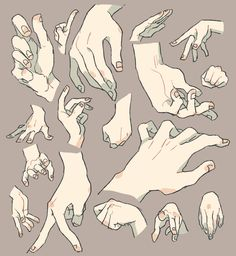 ずいぶん前に描いた手 Hand Drawing Reference, Art Reference Poses, Anatomy Reference, Body Reference, Drawing Studies, Art Studies, Drawing Techniques, Drawing Tips, Main Manga