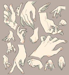 namarozn:  ずいぶん前に描いた手