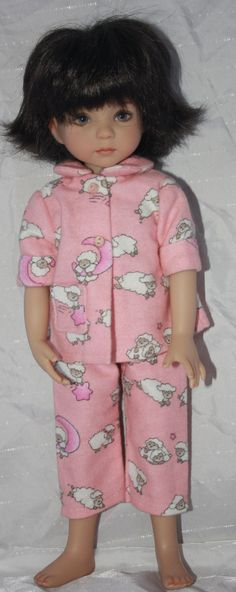 Effner 13 doll Little Darling  and similar dolls pajama
