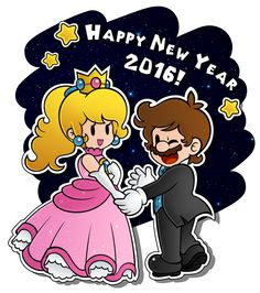 .:See ya\' next year!:. by CloTheMarioLover.deviantart.com on @DeviantArt