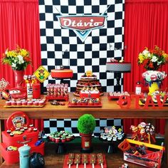 decoração-festa-carros-cars