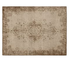 Fallon Persian-Style Printed Rug - Pottery Barn.  Why oh why are rugs so expensiiiiiive
