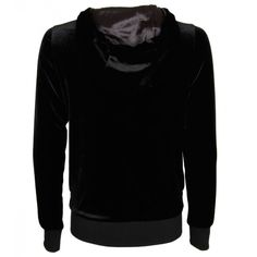 Gucci Black Velvet Sweat Top