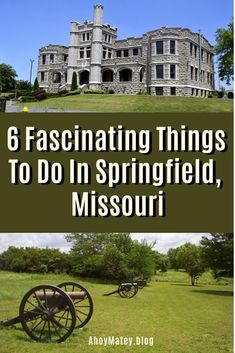 6 Fascinating Things To Do In Springfield, Missouri His Travel, Travel Usa, Family Travel, Places To Travel, Places To See, Travel Destinations, Missouri Caves, Joplin Missouri, Springfield Missouri