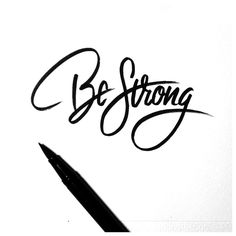 Be Strong by Neil Secretario, via Behance