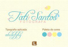 Serviço: Logo ilustrada com kit ID Cliente: Tati Santos Cidade: São Paulo - SP Logovisual é marcas com criatividade. #logovisual