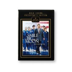John Corbett, Jessy Schram, Logan Huffman, Moira Kelly and Cynthia Watros star in Smile Big as the Moon, a story about children trying to get to space camp. http://www.coppinsgifts.com/hallmark-hall-of-fame-a-smile-as-big-as-the-moon-dvd.html