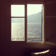 a house, a window by the sea, yes please • photo uncredited