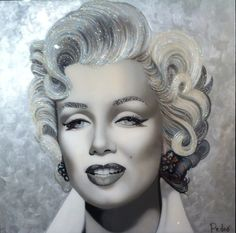 Marilyn Art Marilyn Monroe, Beauty Industry, My Idol, Pop Art, Halloween Face Makeup, Drawings, Illustration, Stephane, Traditional