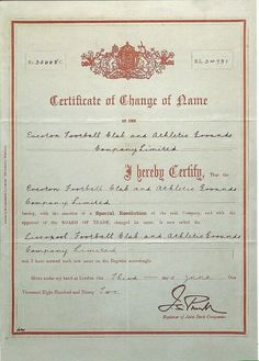 3 Juny 1892. When Liverpool FC was given birth!