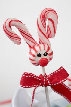 {DIY} Little Rudolph Lollies