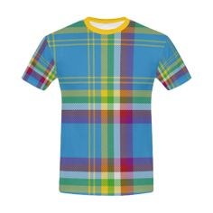 Pat moore james roberts and charlie wright on yukon men yukon yukon tartan all over print t shirt for menlarge size usa size malvernweather