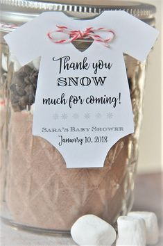 tags ~ Thank you so much SNOW for coming ~ Winter ~ Baby Onesie Gift Tag ~ Baby Shower Par. 10 tags ~ Thank you so much SNOW for coming ~ Winter ~ Baby Onesie Gift Tag ~ Baby Shower Party Favor ~ TAG ONLY ~ 2 tags . Invitation Baby Shower, Baby Shower Party Favors, Baby Shower Parties, Baby Shower Themes, Baby Shower Gifts, Baby Favors, Party Invitations, Snowflake Baby Shower, Christmas Baby Shower