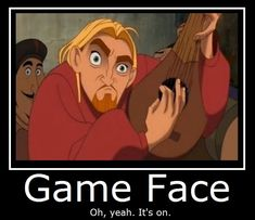 The Road to El Dorado- Game Face by MasterOf4Elements.deviantart.com on @deviantART
